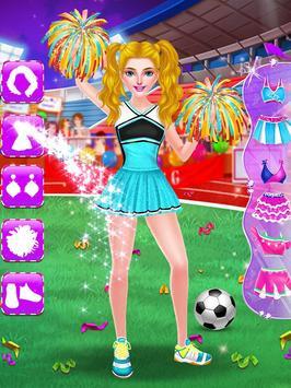 Cheerleader Girls Star - Be a Football Fan screenshot 5