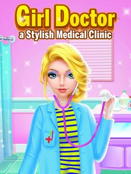 Girl Doctor - A Stylish Medical Clinic poster