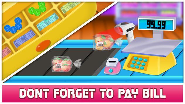 Supermarket Cashier & Shopping screenshot 2