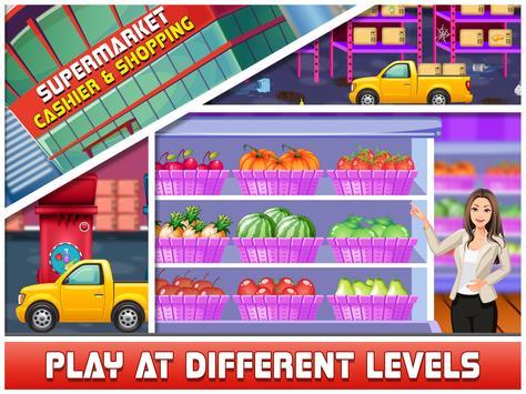 Supermarket Cashier & Shopping screenshot 4