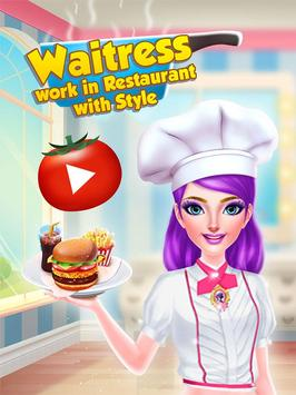 Waitress - Work in Restaurant with Style poster