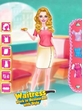 Waitress - Work in Restaurant with Style screenshot 12