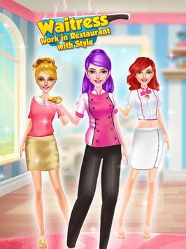Waitress - Work in Restaurant with Style screenshot 14