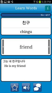 Talk!Korean Words(translate) screenshot 2