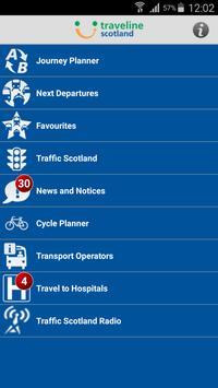 Traveline Scotland poster