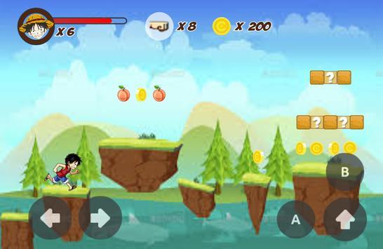 Luffy King Pirate Adventure apk screenshot