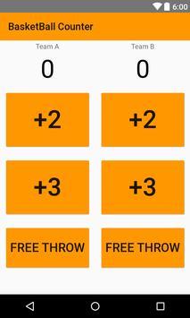 Basketball Score Counter poster