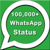 100,000+ WhatsApp Status icon