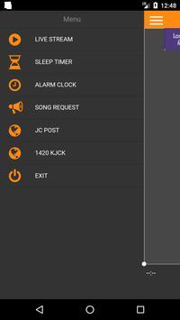 107.9 and 1420 KJCK screenshot 1
