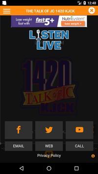 107.9 and 1420 KJCK screenshot 2