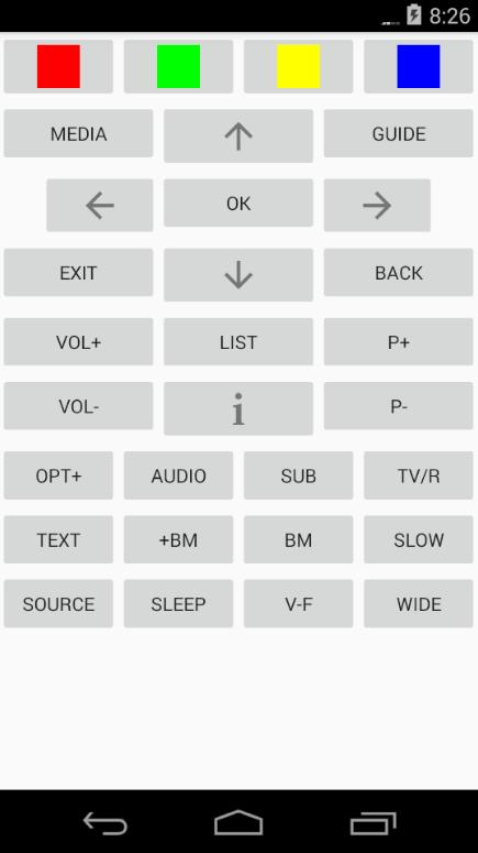 Humax HDR Fox-T2 remote control for Android - APK Download