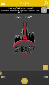 Central City Radio. poster