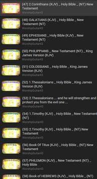 KJV Audio Bible Free poster