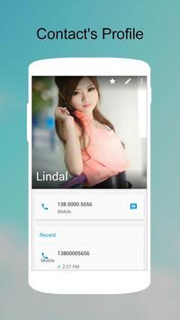 KK Contacts -Easy,Cool Contact apk imagem de tela