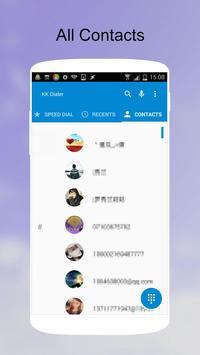 KK Phone (KK Dialer, Lollipop) apk imagem de tela