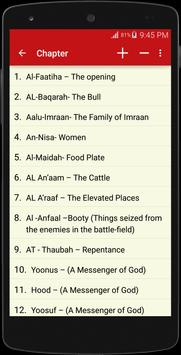 English - Arabic Quran for Android - APK Download