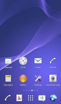 KK Launcher eXperian-Z3 Theme poster