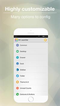 KK Launcher -Cool,Top launcher apk imagem de tela