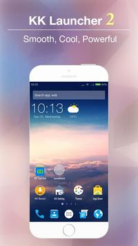 KK Launcher -Cool,Top launcher Cartaz
