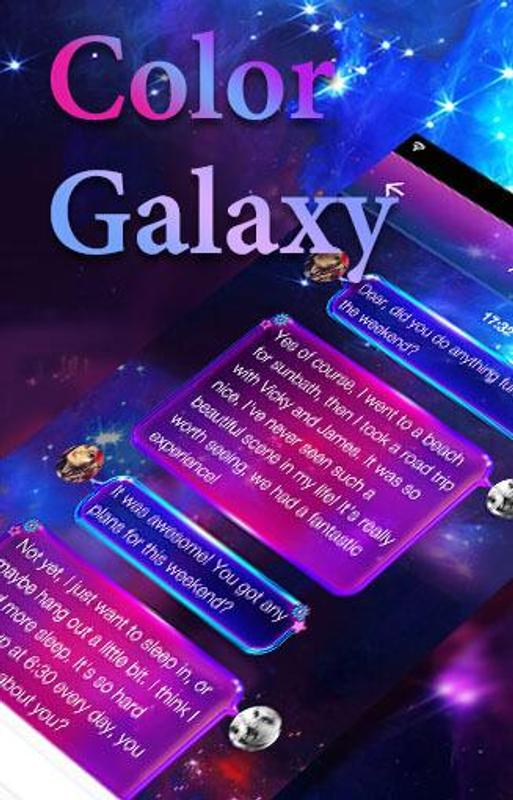 Color Galaxy Emoji Keyboard APK Baixar - Grátis ...