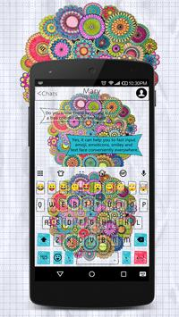 Coloring Book Emoji Keyboard Wallpaper poster