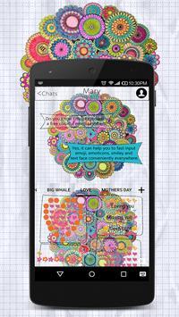 Coloring Book Emoji Keyboard Wallpaper apk screenshot