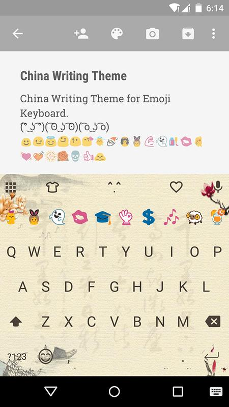 china writing emoji keyboard apk download free tools app for android. Black Bedroom Furniture Sets. Home Design Ideas