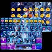 Aquarius Emoji Keyboard theme icon