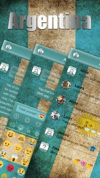Argentina Emoji Keyboard Theme apk screenshot