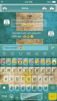 Argentina Emoji Keyboard Theme poster