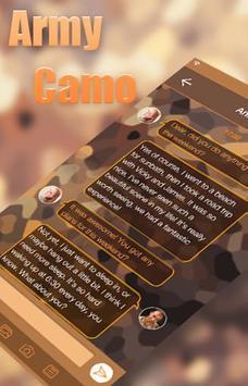 Army Camo Emoji Keyboard Theme apk screenshot