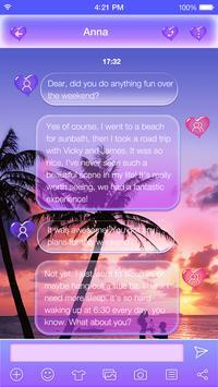 Color Beach Emoji Keyboard apk screenshot