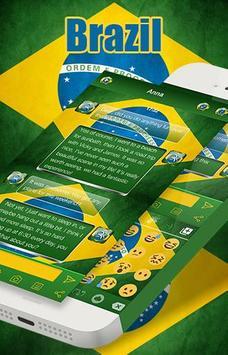 Brazil Emoji Keyboard Theme screenshot 5