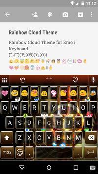 Golden Watch Emoji Keyboard apk screenshot