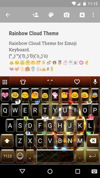Golden Watch Emoji Keyboard apk screenshot