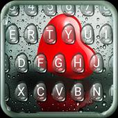 Droplet Heart Keyboard Theme icon