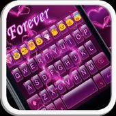 Forever Emoji Keyboard Theme icon