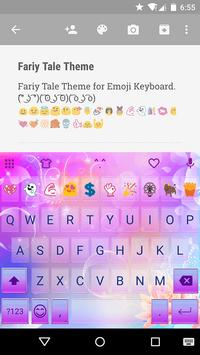 Fairy Tale Emoji Keyboard Skin poster