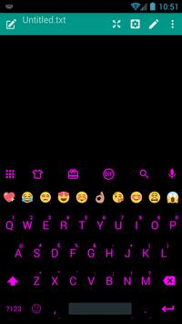 Flat BlackPink Emoji Keyboard apk screenshot