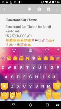 Flower Emoji Keyboard poster
