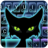 Halloween Cat Emoji Keyboard icon