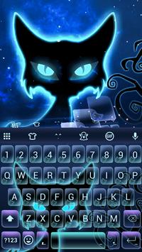 Halloween Cat Emoji Keyboard apk screenshot