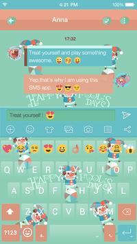 April Fool Day Emoji Keyboard poster