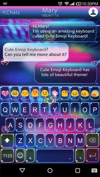 Happy Hour Emoji Keyboard Skin poster