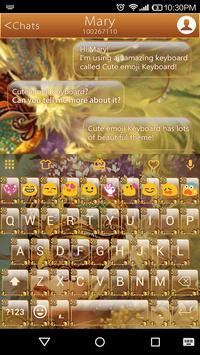 Masquerade Emoji Keyboard Skin poster