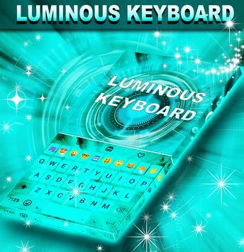 Luminous Keyboard poster