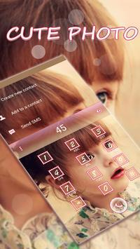 Cute Photo Emoji Keyboard Skin apk screenshot