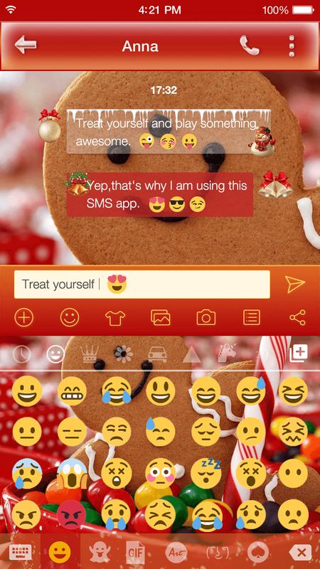 Christmas Emoji Keyboard Skin Apk Download Free Personalization