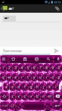 Shading Pink Emoji Keyboard apk screenshot