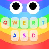 Rainbow Snake Keyboard icon